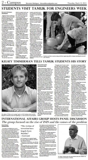Page I designed